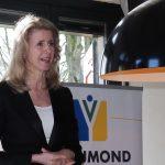 Staatssecretaris Mona Keijzer van Economische Zaken in gesprek