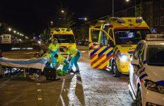 Man ernstig gewond na val met scooter