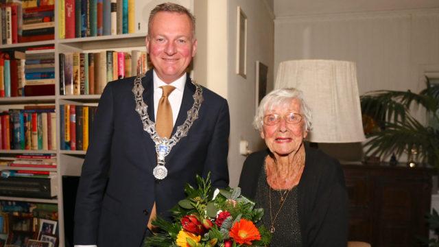 Mevrouw Daalhuizen 100 jaar