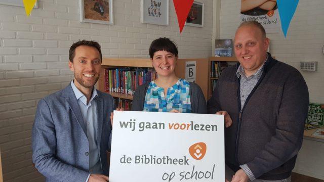 Bibliotheek geopend op school