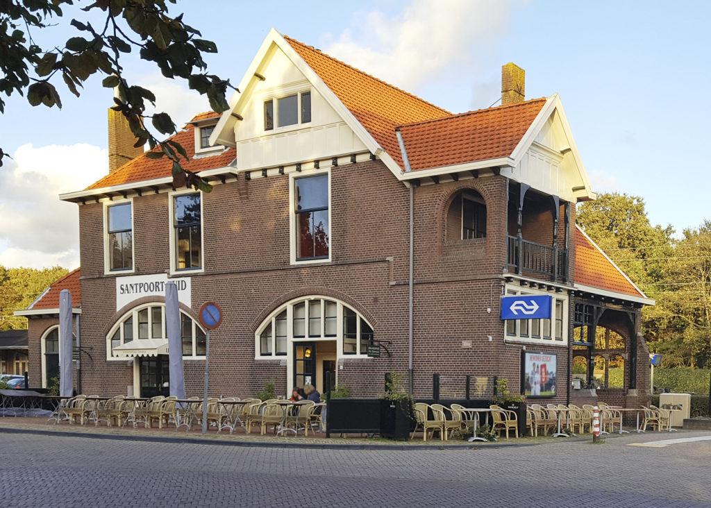 Thuis in Santpoort: Station Santpoort Zuid - De Jutter / De Hofgeest